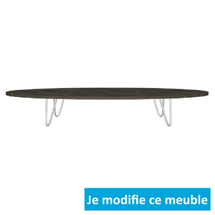Table basse originale design bois