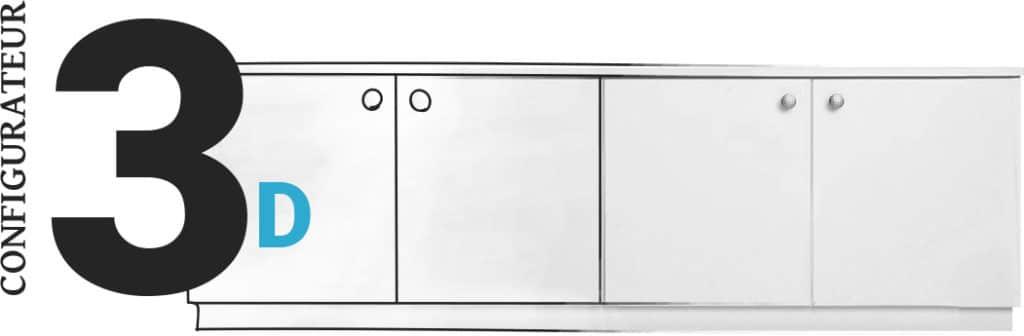 Configurateur 3D pour la réalisation de mon meuble sur-mesure