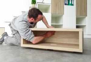 Montage de meuble sur mesure rapide et simple