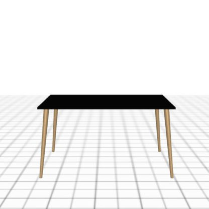 Table sur-mesure large et profonde