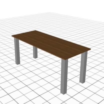 Longue table personnalisée