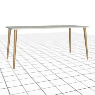 Table de salon personnalisée longueur 2 mètres bois