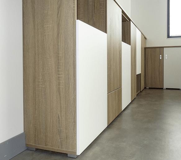 armoire sur mesure avec portes en applique