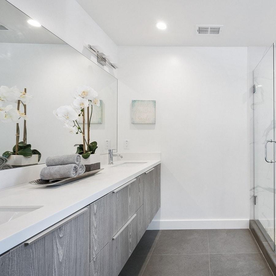 meuble de salle de bain sur mesure