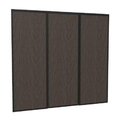 Portes de placard coulissantes personnalisées chêne hauteur largeur 2 mètres
