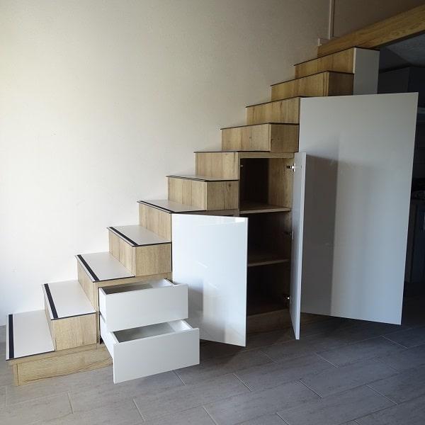 Meuble escalier 3