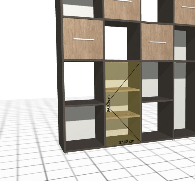 etagere bois sur mesure
