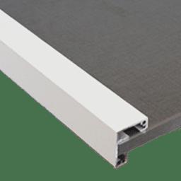 Profil blanc mat