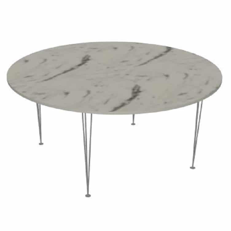 table ronde sur mesure