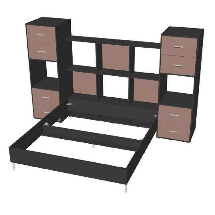tete de lit avec rangements