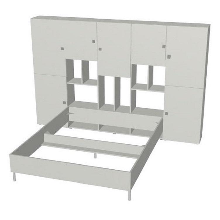 lit avec rangements