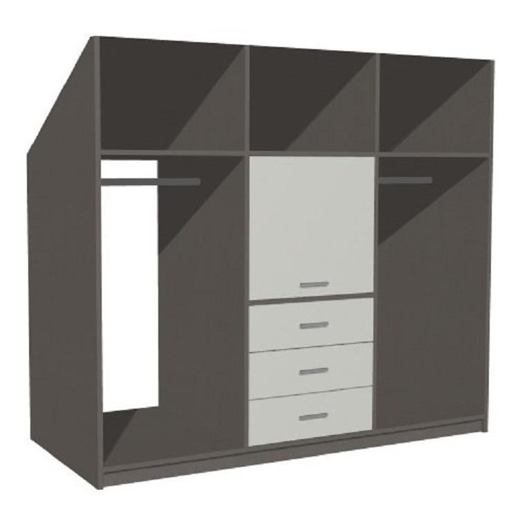 Créer son meuble sous comble penderie