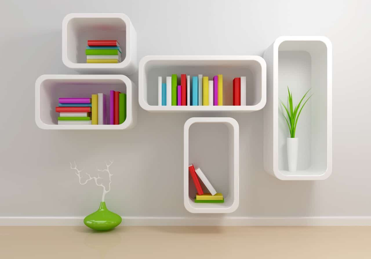 Etagere sur mesure design gain de place